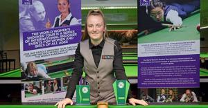 College student reaches top ten in the World Women's Snooker tournament