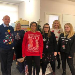 Happy Christmas Jumper Day from Wakefield College!